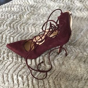 """Vince Camuto Lace Up Pumps """"Barsha"""""""